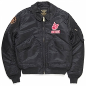 Deus CWU Flight Jacket Black