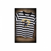 Rumble 59 Striped kids shirt