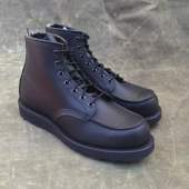 Red Wing Style No. 8137 Classic Moc Toe Black