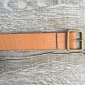 Red Wing Natural Tan Leather Belt
