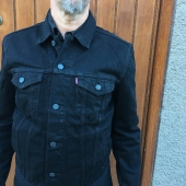 Levi's Trucker Jacket Berkman Black