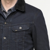 Lee Sherpa Jacket Dark Prime