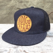 Indigofera Denim Mesh Ltd Cap