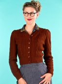 Emmy Design The Ice Skater Cardigan Cinnamon