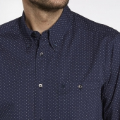 Wrangler L/S 1pkt Button-Down Shirt Mood Indigo
