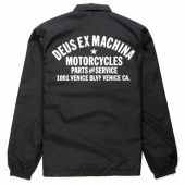 Deus Venice Coach Jacket Black