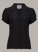 The Seamstress of Bloomsbury Judy blouse black