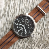 Timex Archive Scout Brook Stainless Steel Black Dial