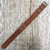 Timex Archive Brown Leather Strap 20mm