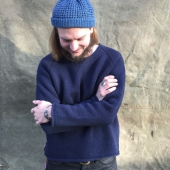 Indigofera Willow Wool Sweater Blue