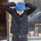 Sarva Wool Shirt Made In Sweden Black