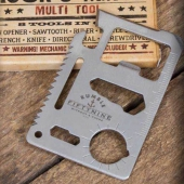 Rumble59 Stainless Steel Wallet Multitool