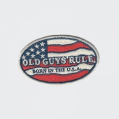 Old Guys Rule Born in the USA Patch
