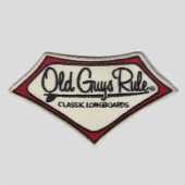Old Guys Rule Longboard Patch