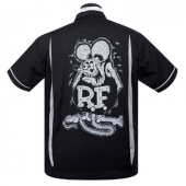 Steady Rat Fink kustoms bowler black