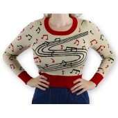Atomic Swag Crazy RnR ladies sweater