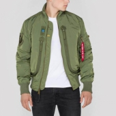 Alpha Prop Flight Jacket Sage Green