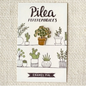 Wit & Whistle Pilea pepromioides enamel pin