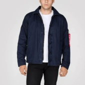 Alpha Authentic Utility Custom Jacket Rep. Blue