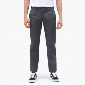 Dickies 873 Slim Straight Charcoal Grey Work Pant