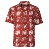 Old Guys Rule Good Times S/S Shirt Garnet