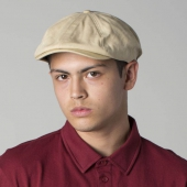 Brixton Brood snap cap offwhite