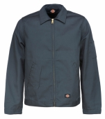 Dickies Eisenhower Jacket Charcoal Grey Lined