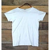 LVC 1930's Bay Meadows Tee Milk White