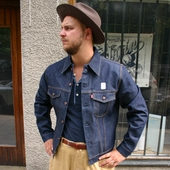 LVC 1967 Type 3 Trucker Jacket Rigid