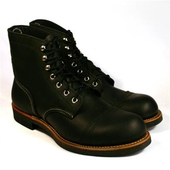 Red Wing Style No. 8114 Iron Ranger Black
