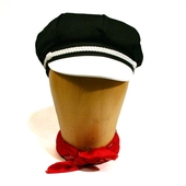 Freddies of Pinewood Motorcycle Hat Elvis Black