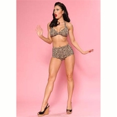 Esther Williams Two-piece classic leopard