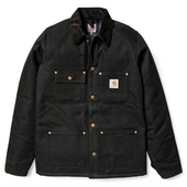 Carhartt Chore Coat Lined Black
