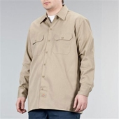 Dickies 574 Longsleeve work shirt khaki