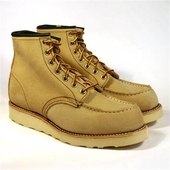 Red Wing Style No. 8173 Tan Moc Toe