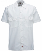 Dickies Shortsleeve Work Shirt White