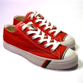 Royal Lo Red/White Canvas