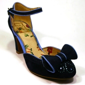 Gabriella dark blue shoe