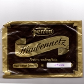 Perlon hairnet black