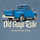 Old Guys Rule It Took Decades Tee