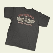Old Guys Rule Vintage motorcycles tee