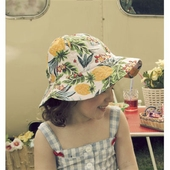 Hawaii flower sun hat