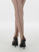 What Katie Did Retro seamed dot tights