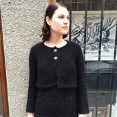 Jumperfabriken Allison Black Cardigan