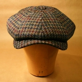 Wigéns Ove Harris tweed cap
