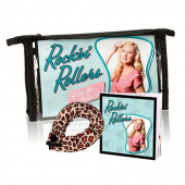 HRST Rockin Rollers Soft Leopard Print Hair Roller and Hairstyle Filler