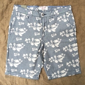 Penguin Faded Denim Shorts