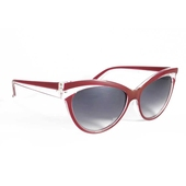 Collectif Classic 50s Sunglasses Red