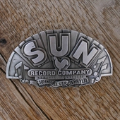 Rumble59 Belt Buckle Sun Records