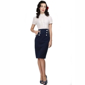 Collectif Bernadette sailor skirt